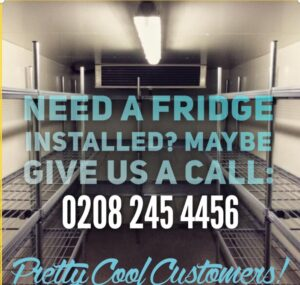 display fridge pretty cool customers